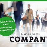 Makler-meets-Company: Offen für alle!