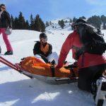 Skifahrer: Wenns auf der Piste kracht...