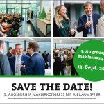 Eine optimale Kombination aus Zusammentreffen und Weiterbildung – der Augsburger Maklerkongress am 13.09.2019