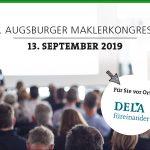 DELA - IHR ANSPRECHPARTNER AM 5. AUGSBURGER MAKLERKONGRESS