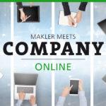 MAKLER-MEETS-COMPANY IM JUNI 2020: ONLINE!