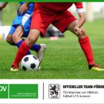SDV BLEIBT SPONSOR BEI DER JUGENDARBEIT DES FUSSBALLVEREIN TSV 1860 MÜNCHEN