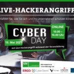 SDV CyberDay MIT LIVE-HACKERANGRIFF AM 19. MAI 2021