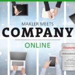 MAKLER-MEETS-COMPANY AM 6. JULI 2021: ONLINE!